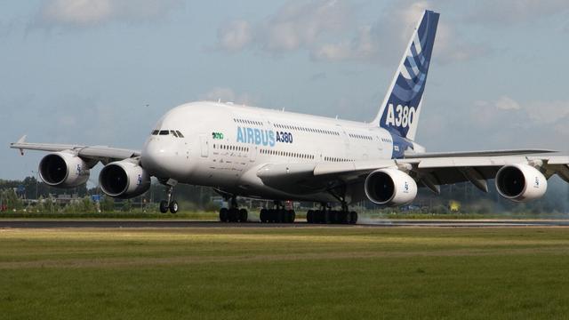 Airbus snijdt schroeft productie A380-vliegtuig terug