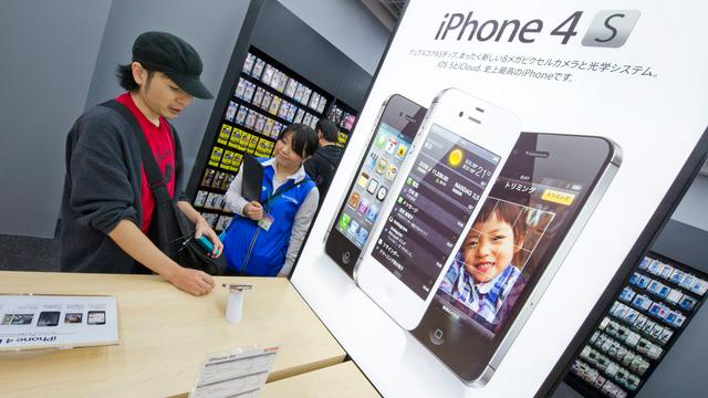 Apple verdubbelt iPhone- en iPadverkoop
