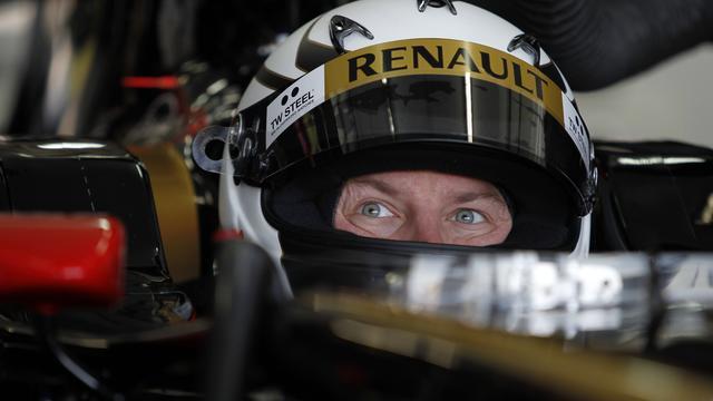 Raikkonen rijdt eerste meters sinds terugkeer