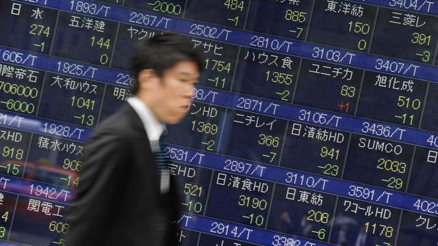Aandelenbeurs in Tokio toont weinig beweging