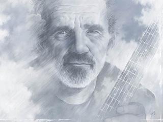 Eerbetoon aan de vorig jaar overleden bluesgitarist