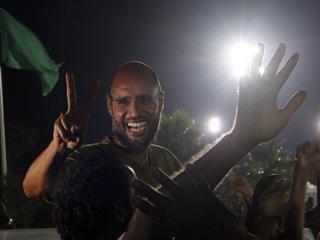Zoon van wijlen Muammar Kaddafi in goede gezondheid