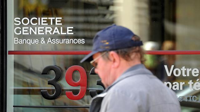 Winst Société Générale met een derde gedaald