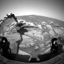 NASA gaat geheugen Marsrover op afstand formatteren