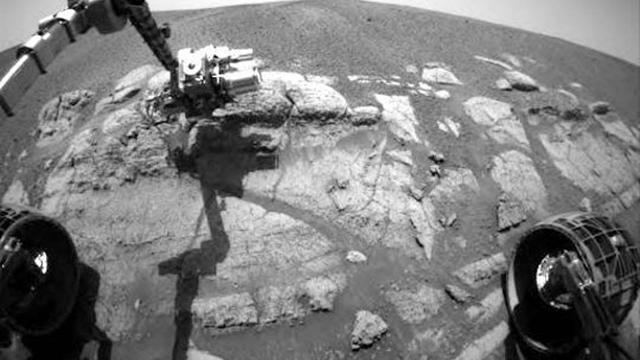 Marsrover gaat mogelijk naar vloeibaar water zoeken