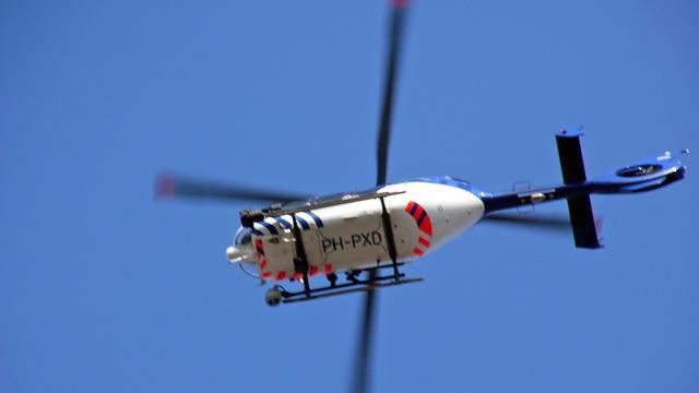 Politiehelikopter zoekt naar inbrekers Goes