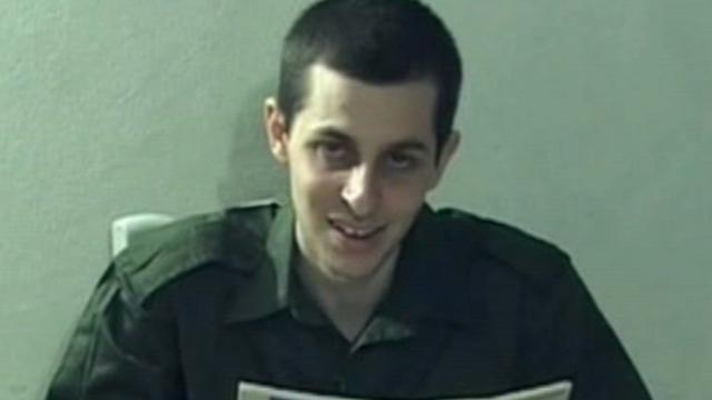 Gilad Shalit vrijgelaten