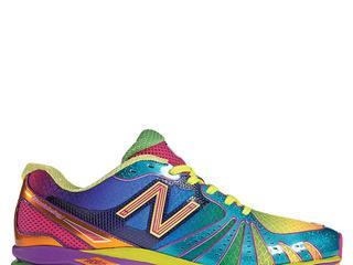 Vooral kleurrijke schoenen gezocht