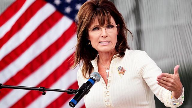 Sarah Palin steunt Donald Trump in verkiezingen VS