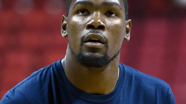 'MVP' Durant moet rest van NBA-seizoen mogelijk missen