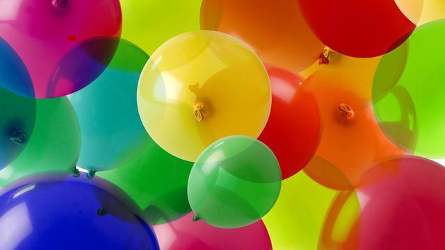 Hond zet nieuw wereldrecord met kapotmaken van honderd ballonnen