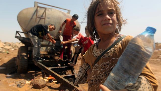'Nog honderden yezidi's in Sinjar-gebergte'