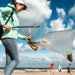 Achter de lens: Beach Clean Up in Noordwijk
