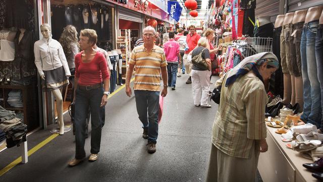 Onderzoek merkfraude Bazaar Beverwijk voorlopig stilgelegd