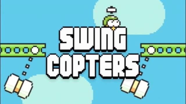 Swing Copters minder moeilijk na update