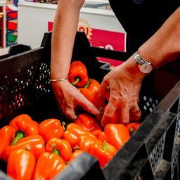 Minder klanten voor voedselbank