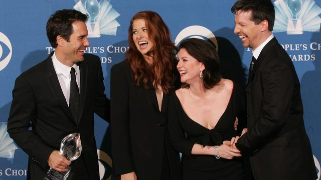 'Ook Will & Grace-cast bij Friends-reünie'