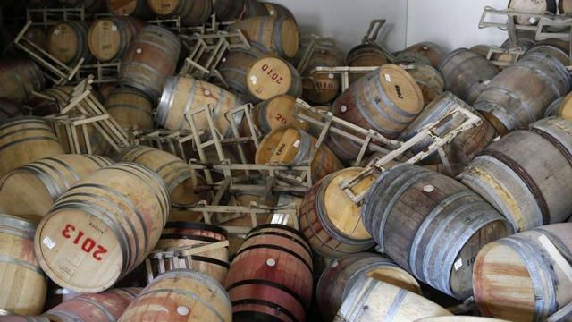 Aardbeving Californië grote klap voor wijnhuizen