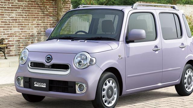 Daihatsu onderwerpt Mira Cocoa aan facelift