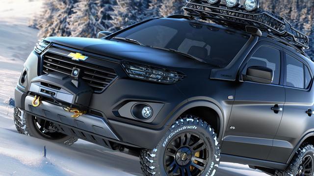 Beelden nieuwe Chevrolet Niva opgedoken