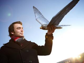 Nederlandse robot jaagt echte vogels weg