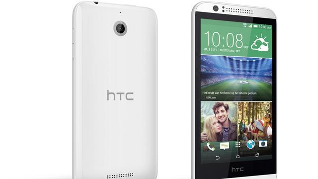 Nieuw budgettoestel HTC krijgt 4,7 inch-scherm en 4G