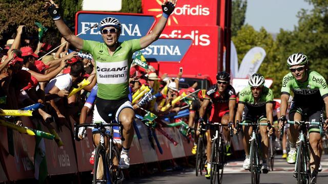 Degenkolb troeft Hofland af in vijfde etappe Vuelta