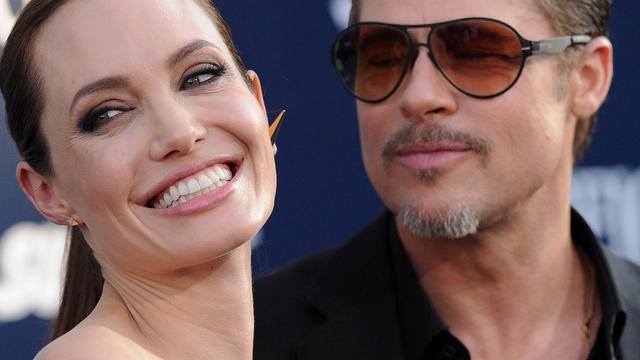 Brad Pitt en Angelina Jolie zijn getrouwd