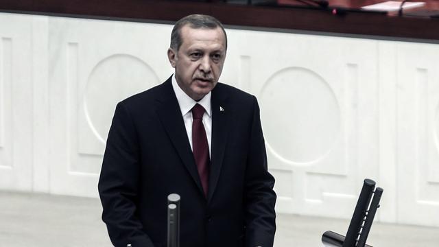 Erdogan beëdigd als president Turkije