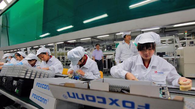 Foxconn-medewerkers niet tevreden met kortere werktijden