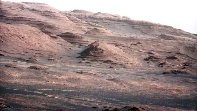 Mogelijk klei gevonden op Mars