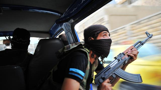 Rebellen Libië helpen Syrische 'collega's'