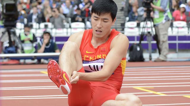 Onfortuinlijke hordeloper Liu Xiang zet loopbaan voort