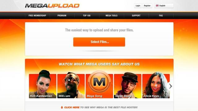 FBI aangeklaagd om offline halen Megaupload.com