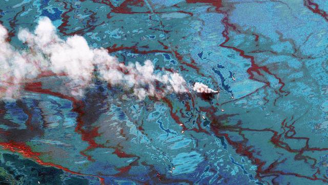 Olietanker gestrand in Duitse deel Noordzee