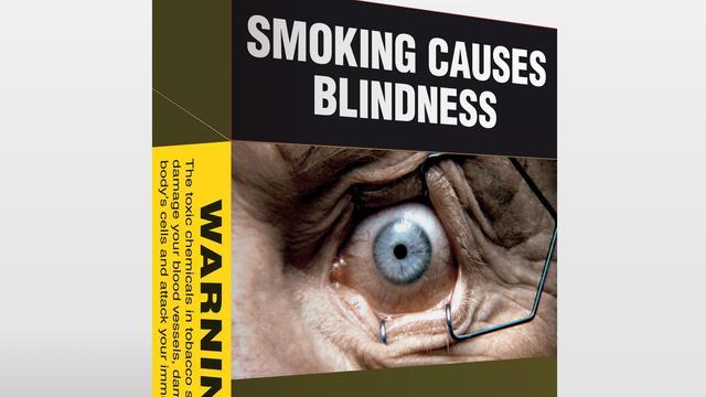 'Waarschuwingen op pakjes sigaretten werken niet'