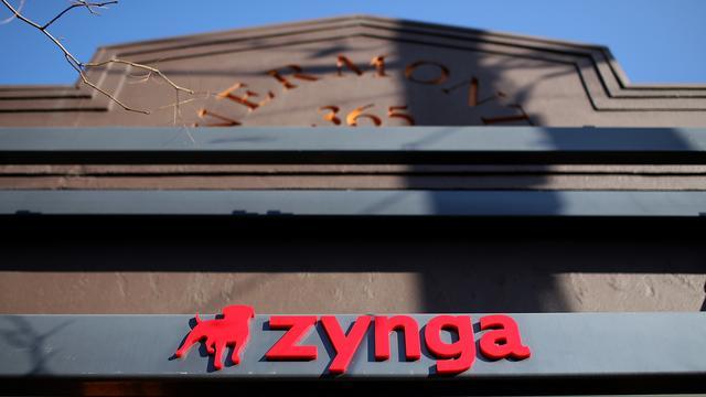 Zynga noteert rode cijfers