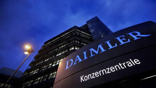 Daimler stelt doelstellingen bij na teleurstellende start