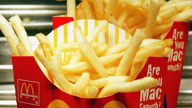 Weer grote porties frites bij McDonald's in Japan