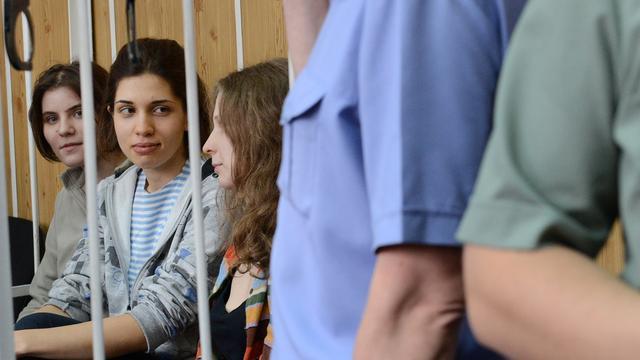 Leden Pussy Riot naar 'gevangenishel'