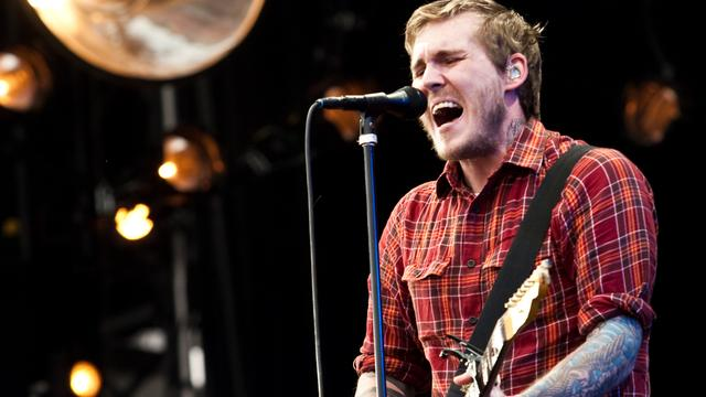 The Gaslight Anthem en Will and The People op Paaspop