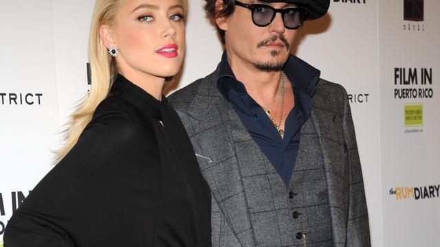 'Johnny Depp en Amber Heard alweer uit elkaar'