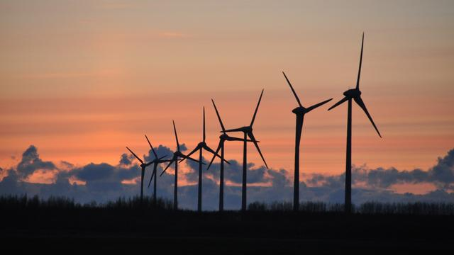 Minder investeringen in groene energie