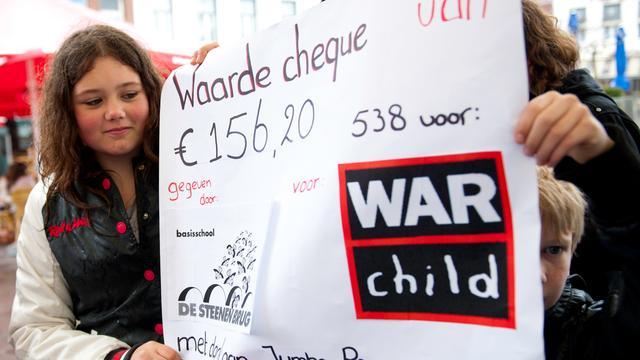 War Child krijgt Vredesprijs