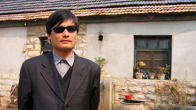 Dissident Chen op weg naar Amerika