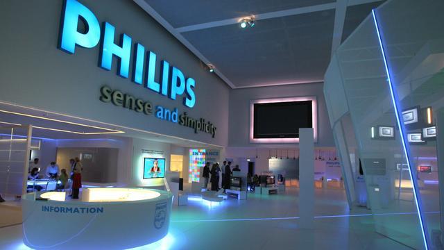 Kosten reorganisatie Philips 80 miljoen hoger