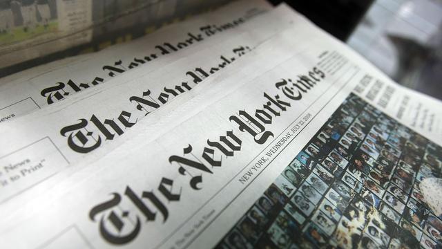 New York Times op zwart in China na bericht over premier
