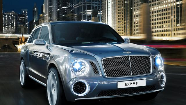 'Bentley SUV heet Falcon'