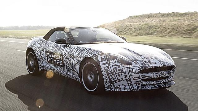 Jaguar onthult motor F-Type