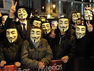 Hackersgroep zegt op te komen voor de rechten van het Palestijnse volk